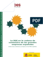La RSE en la cadena de suministro de las grandes empresas españolas