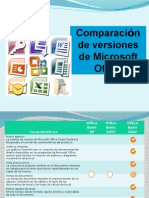 Comparaciones Office 2007
