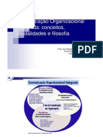 Comunicacao Organizacional Integrada Conceitos Modalidades Filosofia