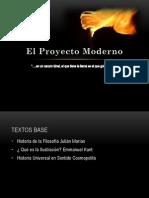 El Proyecto Moderno