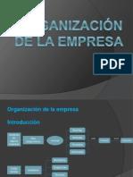ORGANIZACIÓN DE LA EMPRESA.