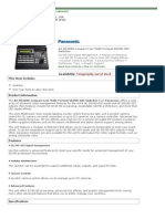 Panasonic AV-HS400A Compact Live Multi-Format SD_HD-SDI Switcher