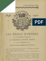 Reclams de Biarn e Gascounhe. - Ouctoubre-Noubembre 1921- N°10-11 (25e Anade)