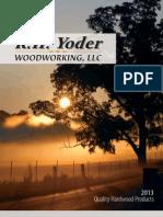 2013 RHYoder Catalog