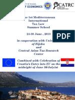 Invitation to International Tax Summer School