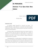 La Mineria Peruana