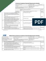 93-42-EC ER Checklist Example