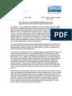 Lopez-Venegas v. Napolitano Press Release