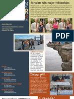 "Fall 2012 National Scholars Program ""Scholar Stories"""
