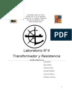 Informe N° 4 Laboratorio Electrotecnia I