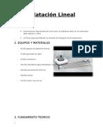 Dilatación Lineal2
