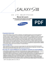 Galaxy S III Spanish User Manual