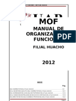 Mof Alineado Al Plan Estrategico -Filial Huacho Uap