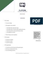 Platform Speech Notes