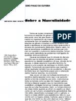 Discursos Sobre a Masculinidade. Pedro Paulo de Oliveira