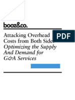 Attacking Overhead Costs From Both Sides