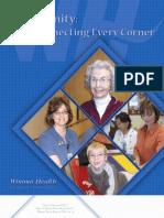 Winona Health 2007 Annual Report & Accomplishments