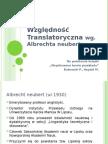 Względność translatoryczna