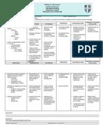 Nuevo Modelo Curricular Plan Trimestral 1 - Primero