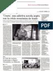 Usura, de Pedro Asensio Romero, en La Voz de Almería