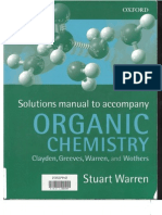 Organic Chemistry - Clayden Et.al. Solutions Manual