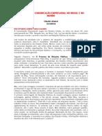 Comunicaýýo Empresarial no Brasil e no Mundo