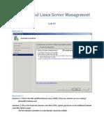 Lab 3 Worksheet - Windows Server 2008 - Exam 70-646