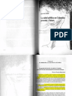 La Garantía al Derecho a la Salud en Colombia