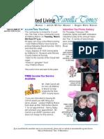 Vanilla Times March 2008