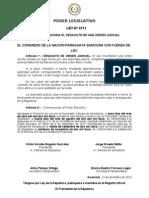 Ley 4711-12 Desacato