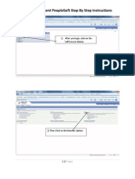 PeopleSoft Instructions