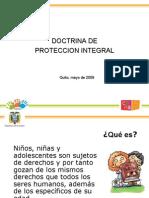 Doctrina de Proteccion Integral - ECUADOR