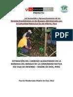 ESTIMACIÓN DE CARBONO CNI_bosque secudario