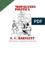 Propaganda Politica- f.c. Bartlett