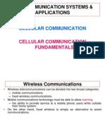 Lec#01(Basics of Cellular Commincation)