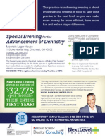 July 25 Special Evening for the Advancement of Dentistry