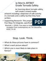Tornado Safety Art Lesson by Katie Morris