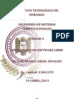 UNIDAD 3[Servidores Con SW Libre]