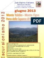 09 Giugno 2013 - Traversata Monte Tobbio (1.092 m.) - Monte delle Figne (1.172 m.)