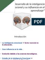 Desarrollo de La Inteligencia Emocional y Su Influencia en El Aprendizaje