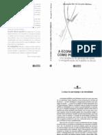 A Economia Soludária Como Política Pública