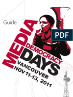Media Democracy Days 2011 Program Guide