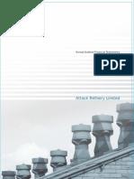 Attock Refinery Limited (Annual Report 2008)