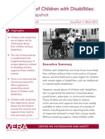 Sexual Abuse of Children With Disabilities