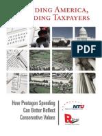 Defending America, Defending Taxpayers
