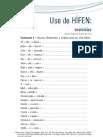 Uso do Hifen - Prof Sérgio Nogueira