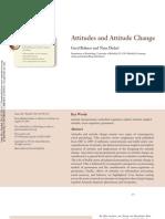 Bohner Attitude Attitude Change 2011[1]