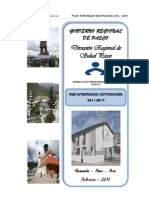 Plan Estrategico Institucional (2011-2014)