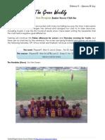 Cygnet Sea Dragons Junior Soccer Club - Queens B'Day Weekend
