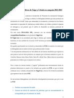 Trigalazo en trigo y cebada campaña 2012-2013